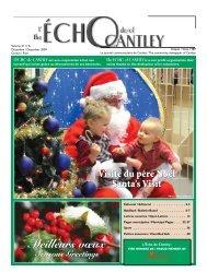 Décembre - Echo of Cantley / Écho de Cantley