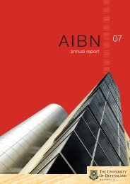 Download the 2007 AIBN Annual Report. - Australian Institute for ...