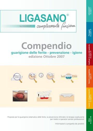 Compendio guarigione delle ferite - prevenzione - Ligasano