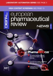 PharmaINFOcus - European Pharmaceutical Review