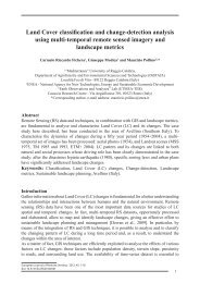 Land Cover classification and change-detection analysis using multi ...