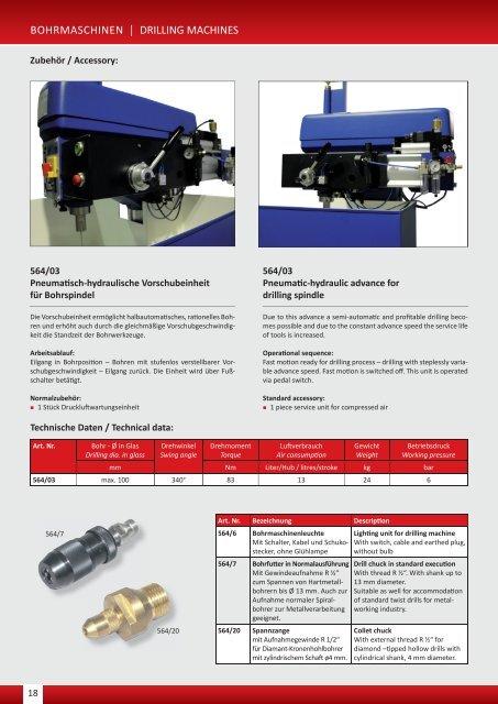 Bohr- und Schleifmaschinen.indd - Arnold Gruppe