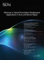 Advances in Topical Formulation Development - The Dermatologist