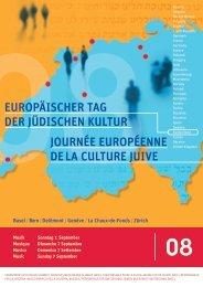 JOURNÉE EUROPÉENNE DE LA CULTURE JUIVE - Ordiecole.com