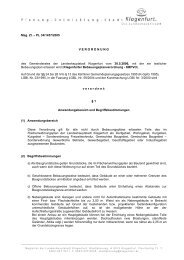 Mag. Zl. – PL 34/1457/2005 V E R O R D N U N G des ... - Klagenfurt