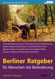 Berliner Ratgeber - Tettricks