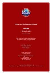 Preisliste für Kategorie: USA - und Getränke-Welt Weiser