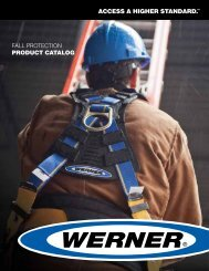 Fall protection PRODUCT CATALOG - National Ladder and Scaffold ...