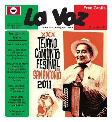 La Voz de Austin May 2011abc.pmd - La Voz Newspapers