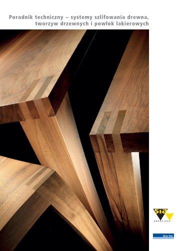 Poradnik techniczny − systemy szlifowania drewna, tworzyw ...