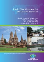 Public-Private Partnerships and Disaster Resilience - Emergency ...