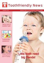 Toothfriendly News - Toothfriendly International