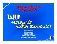Nota 2: Pembentukan Malaysia