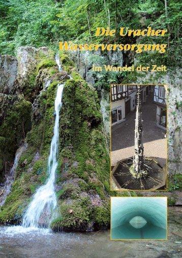 Die Uracher Wasserversorgung - Stadtwerke Bad Urach