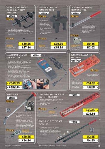 Ribbed crankshaft - Toolcom Supplies