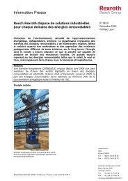 Headline in Bosch Office Sans 15 pt - Bosch Rexroth
