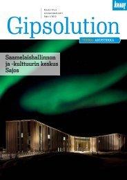 Knauf Gipsolution 1/2012