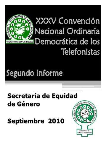 Secretaria de Equidad de Genero - STRM