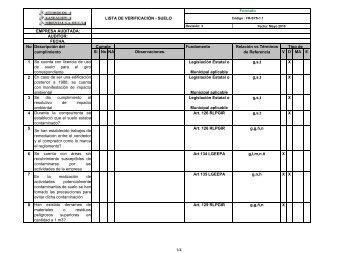 FR-AGU-1.1 Lista verificacion agua