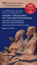 Hidden Treasures of THe MediTerranean - Yale University