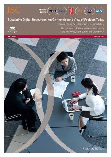 Report with case studies: Sustaining - Strategic Content Alliance blog