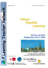 Vienna 2008 Conference Brochure - The Learning Teacher Network
