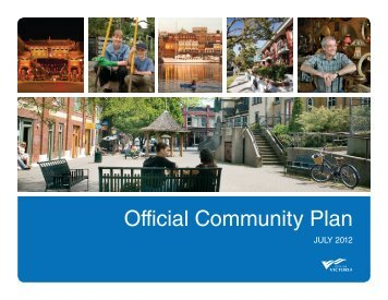 Official Community Plan - City of Victoria
