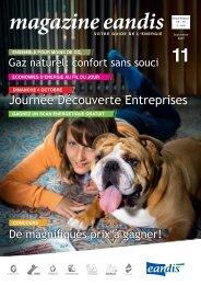 Magazine Eandis 11 - Septembre 2009