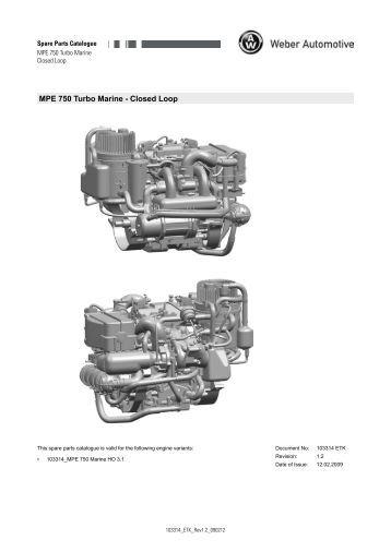 MPE 750 Four Stroke Marine TC