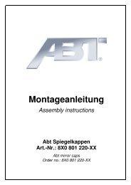 Einbauanleitung Spiegelkappen.pdf - A1talk.de