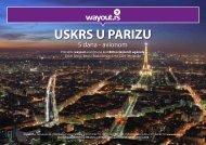 USKRS U PARIZU - Wayout