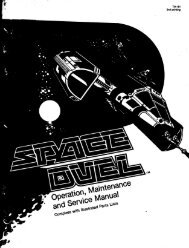 Space Duel Operators Manual - Vernimark
