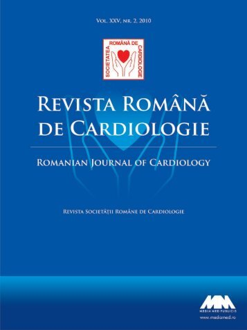Nr. 2, 2010 - Romanian Journal of Cardiology