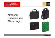 Case Logic Netbook-Taschen Übersicht 1