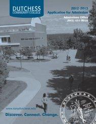hard copy - Dutchess Community College