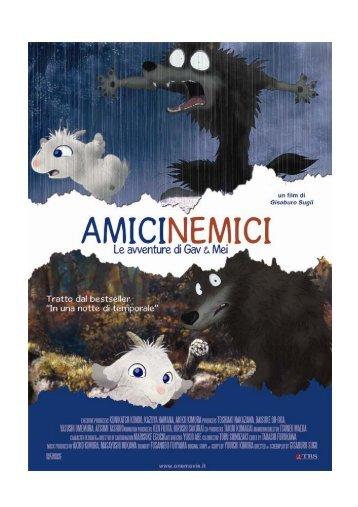 Scarica il pressbook completo di Amicinemici - Mymovies.it