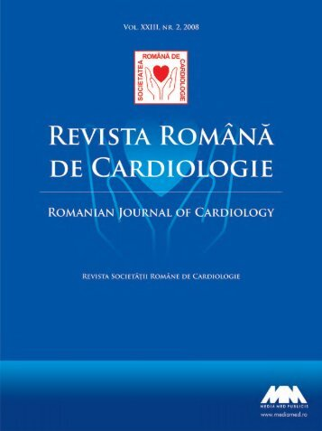 Nr. 2, 2008 - Romanian Journal of Cardiology
