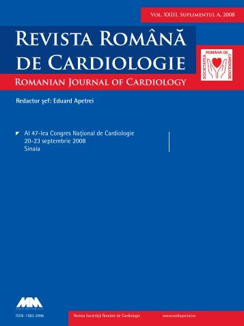 Untitled - Romanian Journal of Cardiology