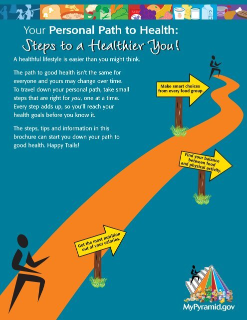 Steps to a Healthier You! - ChooseMyPlate gov