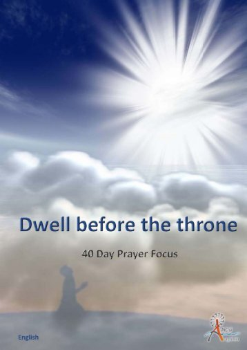 Dwell before the Throne - Amosafrica.net