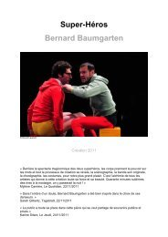 Super-Héros Bernard Baumgarten - Le Trois C-L