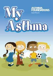 My Asthma (for children) - Asthma Foundation of Victoria