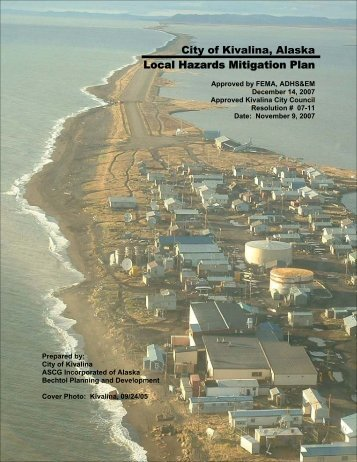 City of Kivalina, Alaska Local Hazards Mitigation Plan - Commerce ...