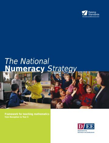 The National Numeracy Strategy - Dudley Virtual Resource Centre