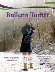 Nouveautés dans le domaine du syndrome de Turner