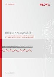 Flexible = Atraumático - Med-El