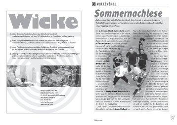 Sommernachlese - TSG 1881 Sprockhövel eV