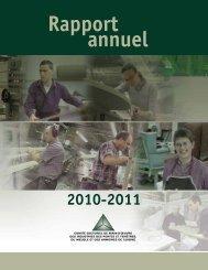 Rapport Annuel 2010-2011 - Clicemplois.net