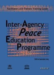 Facilitators and Trainers Training Guide - INEE