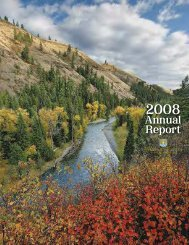2008 Annual Report - the Western Rivers Conservancy